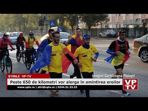 Peste 650 de kilometri vor alerga în amintirea eroilor