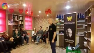 Открытие Первоо интеллектуального клуба в Витебске