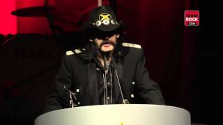 Tommy Vance Inspiration Award feat Lemmy | Classic Rock Awards 2015