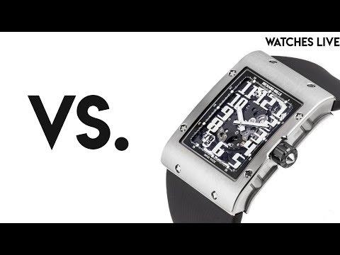 Watches Live **VS**: Rolex vs. Omega; FP Journe vs. Richard Mille; Patek Philippe vs. Roger Dubuis