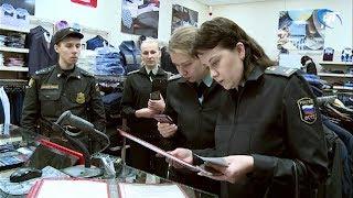 Судебные приставы провели рейд по должникам среди предпринимателей и продавцов ТЦ «Волна»