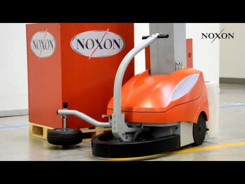 Pallet Wrapping Machine | Noxon Wrapping Robot MAS 2