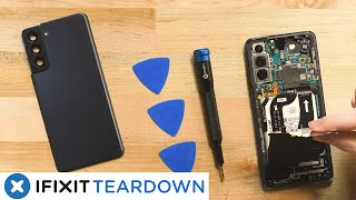 Samsung Galaxy S21 5G Teardown:  Best of the New Galaxies