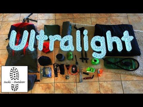 Ultraleicht-Trekking - Die großen 4
