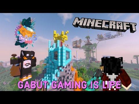 NgeGABUT Kebasenya ERPAN dan GAMERSEJATI!!  SANS SMP  Minecraft Indonesia