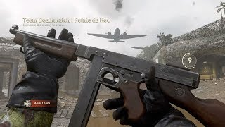 "Call of Duty: WW2 - New SMG ""M1928"" - Multiplayer Gameplay"