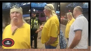 Police Stop Hulk Hogan Lookalike Over Reports Of Troublemaker In Fancy Dress On Train
