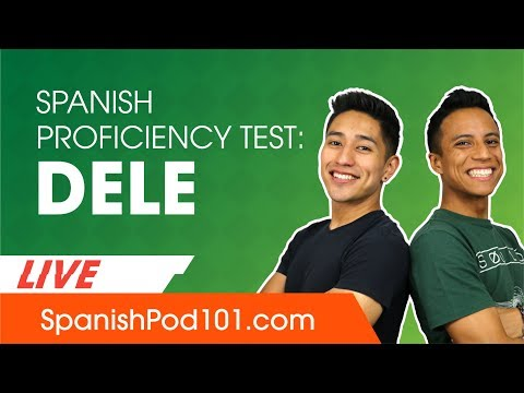 How to pass the DELE, the Spanish Proficiency Test - YouTube