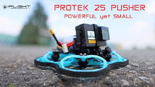 IFlight Protek 25 Pusher Drone is small yet very powerful & plenty of fun! Review