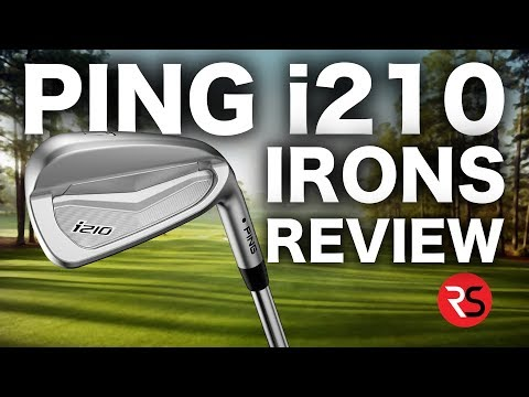NEW PING i210 IRONS REVIEW – RICK SHIELS