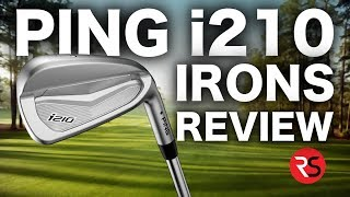 NEW PING i210 IRONS REVIEW - RICK SHIELS