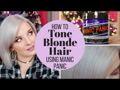 How To: Manic Panic Ultra Violet Blonde Toner