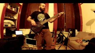 Baroness - Cocainium (bass cover)