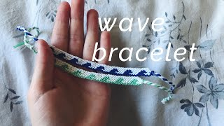 Wave Bracelet Tutorial! (advanced) REMAKE