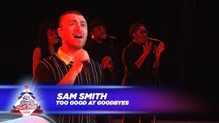 Sam Smith - 'Too Good At Goodbyes' - (Live At Capital's Jingle Bell Ball 2017)