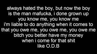 Drake - Worst Behavior (lyrics on Screen)