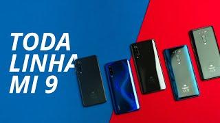Xiaomi Mi 9 Lite, Mi 9, Mi 9T, Mi 9T Pro e Mi 9 SE [Comparativo]