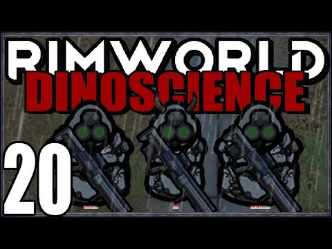 Rimworld: DinoScience #20 - Death Squad 2.0