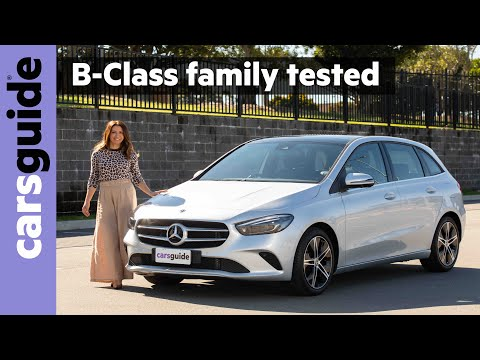 Mercedes-Benz B-Class 2020 review: B180