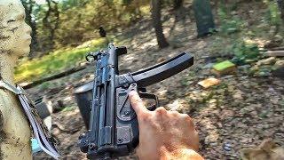Бронежилет своими руками против MP-5 | Разрушительное ранчо | Перевод Zёбры