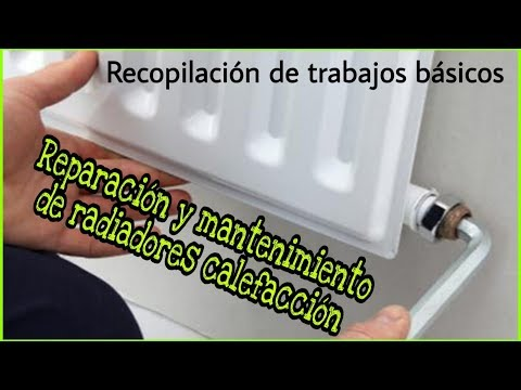 REPARACIÓN DE AVERÍAS FRECUENTES EN RADIADORES