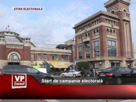 Start de campanie electorală
