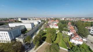 preview picture of video 'Gliwice Politechnika'