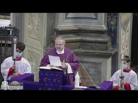 Messa nella prima domenica d'Avvento dalla Basilica San Magno
