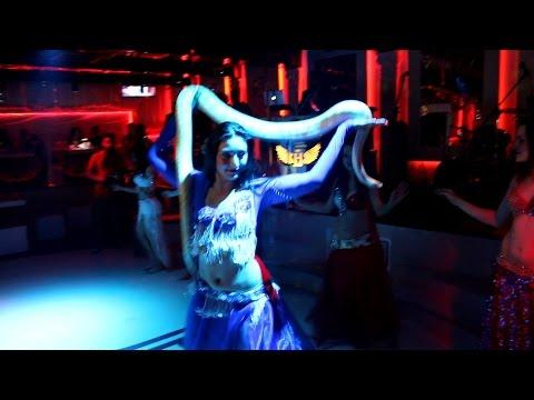 Відео Східний танець зі змією 1