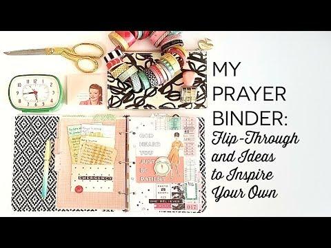 My Prayer Binder: Flip Through and Thoughts