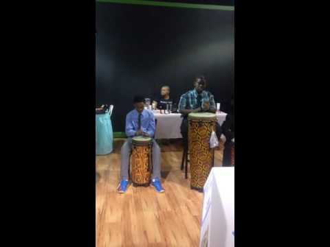 A drum circle I put together in 2014.  Great group of young men with great rhythmic talent!