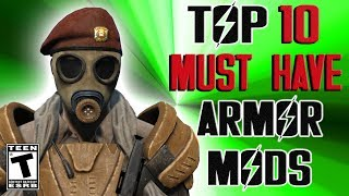 Fallout 4 Top 10 MUST HAVE Armor Mods