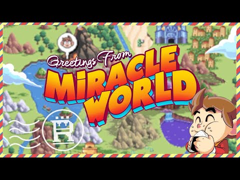 Greetings From Miracle World Trailer de Alex Kidd in Miracle World DX