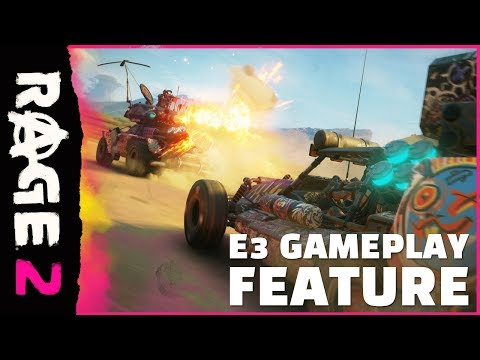 RAGE 2 – Official E3 Gameplay Feature thumbnail