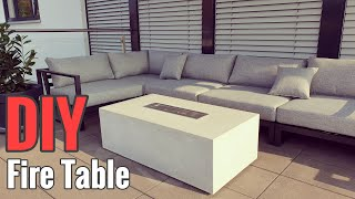 Tutorial: Einen Tisch mit eingebauter Feuerstelle selber bauen / DIY Fire Table