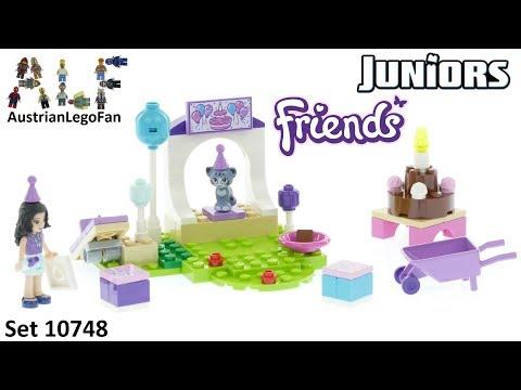 Vidéo LEGO Juniors 10748 : La fête des animaux d'Emma