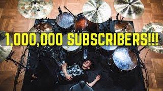 Best Of Matt McGuire Drum Covers - 1,000,000 Subscribers