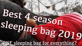 ONE sleeping bag for everything? Best 4 season sleeping bag 2019