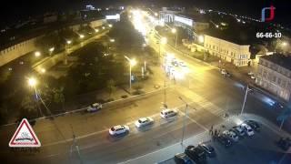 Авария  на улице Адмиралтейская Camry vs Mark2