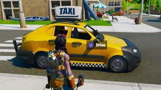 DRIVING CARS IN FORTNITE!