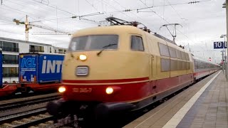 preview picture of video 'München Pasing - Fernverkehr - 16.10.2014'
