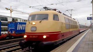 preview picture of video 'München Pasing - Fernverkehr - 16.10.2014'