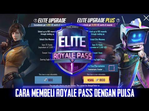 Tutorial Cara Beli Royale Pass PUBG Mobile Dengan Pulsa   Season 6   #TutorialPUBGM
