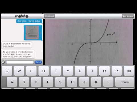 Video of motuto tutor (tablet)