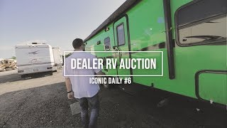 RV Auction - Dealer ONLY - We Got Inside Footage, Guess What We Saw!
