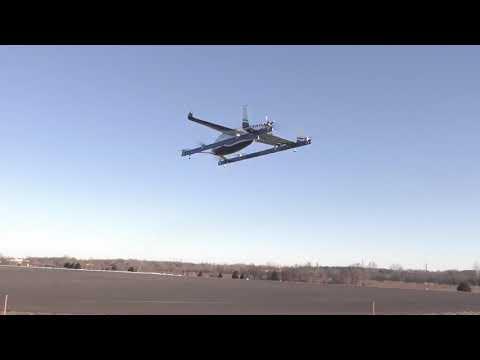 טיסת הניסיון של מטוס נוסעים אוטונומי ללא טייס. צילום: בואינג