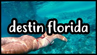 DESTIN FLORIDA | WE DISCOVERED A NATURAL SPRING | THINGS TO DO