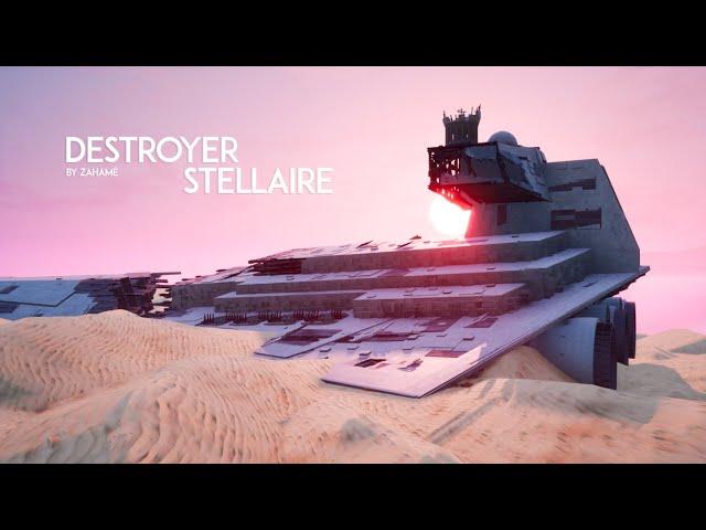 DESTROYER STELLAIRE - ÉPAVE