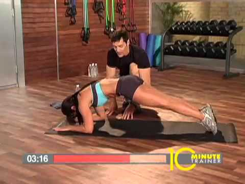 Free 10 Minute Trainer. A Complete Workout from Tony Horton: '10-Minute Abs'