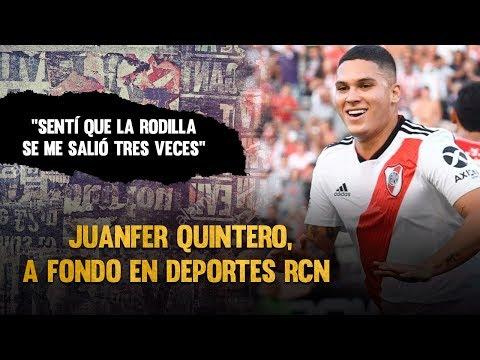 Juan Fernando Quintero habla por primera vez tras su lesion - Entrevista Noticias RCN